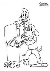 cleaning-coloring-pages