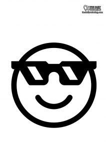 cool-emoji-coloring-page