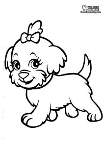 puppy-coloring-page