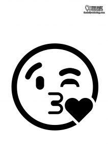 throwing-kiss-emoji-coloring-page