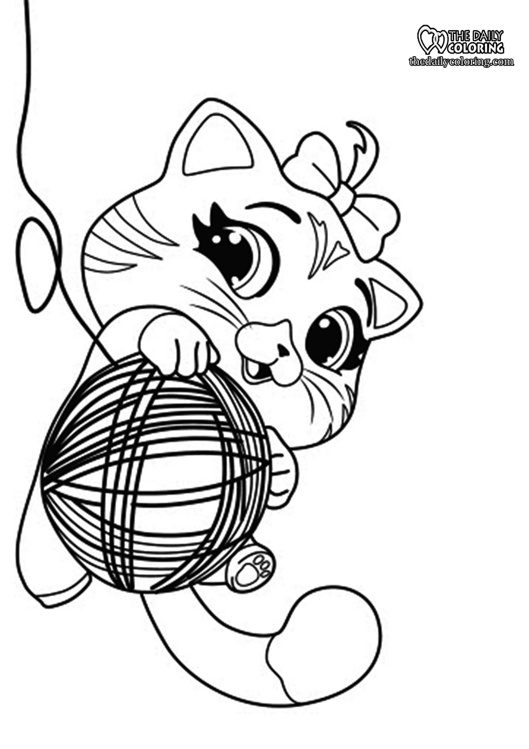 cute-cat-coloring-page