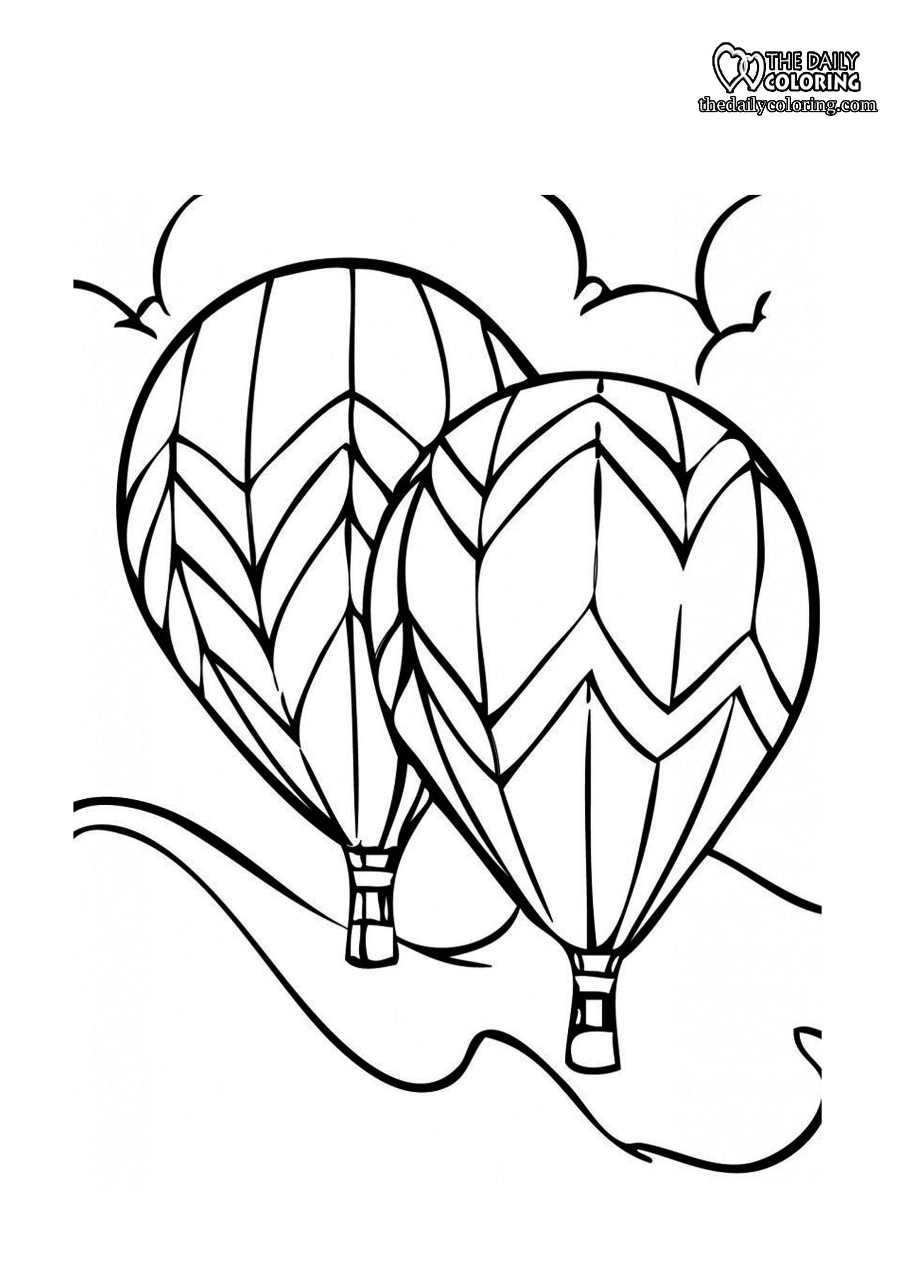 ballon-coloring-page