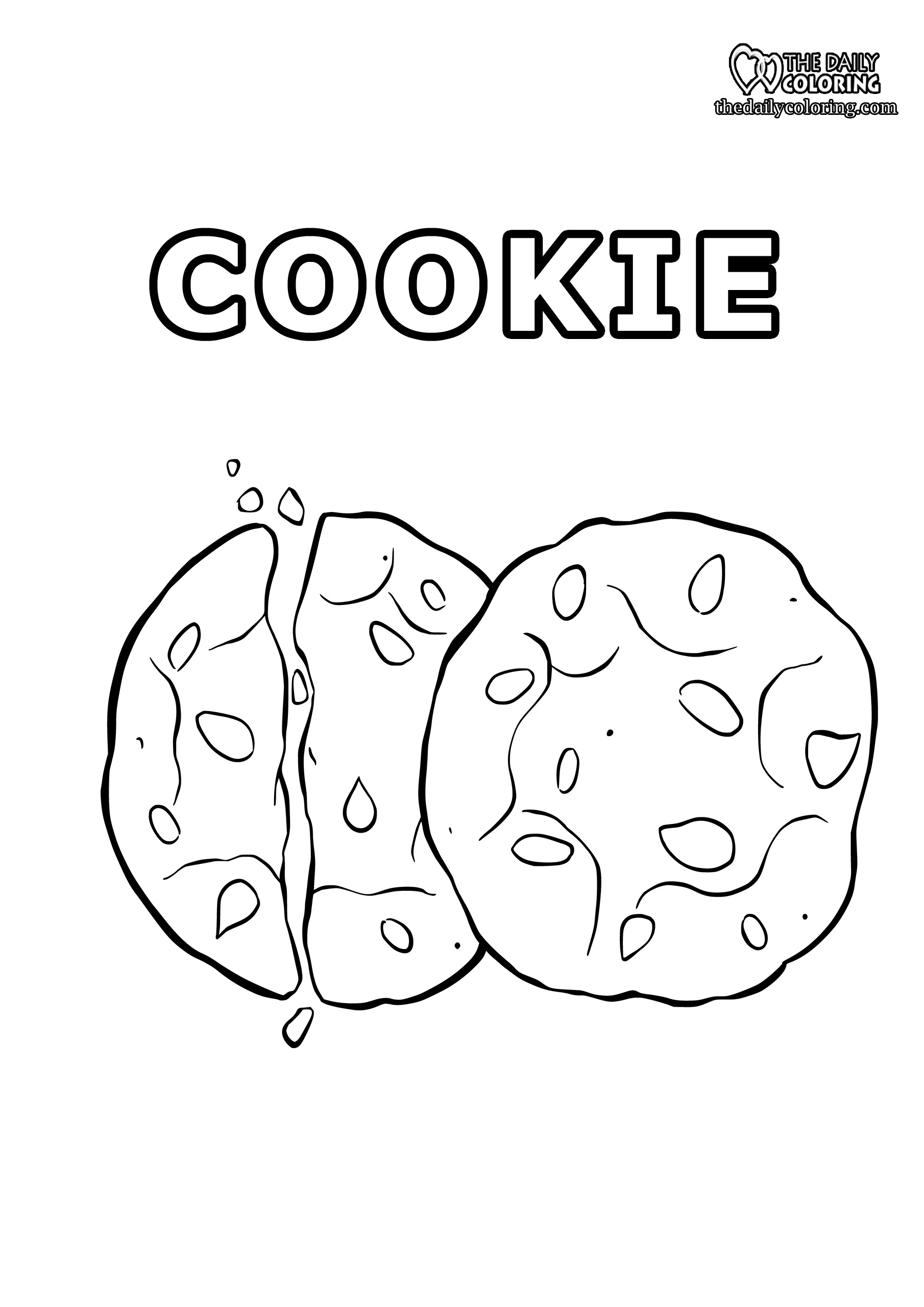 cookie-coloring-page
