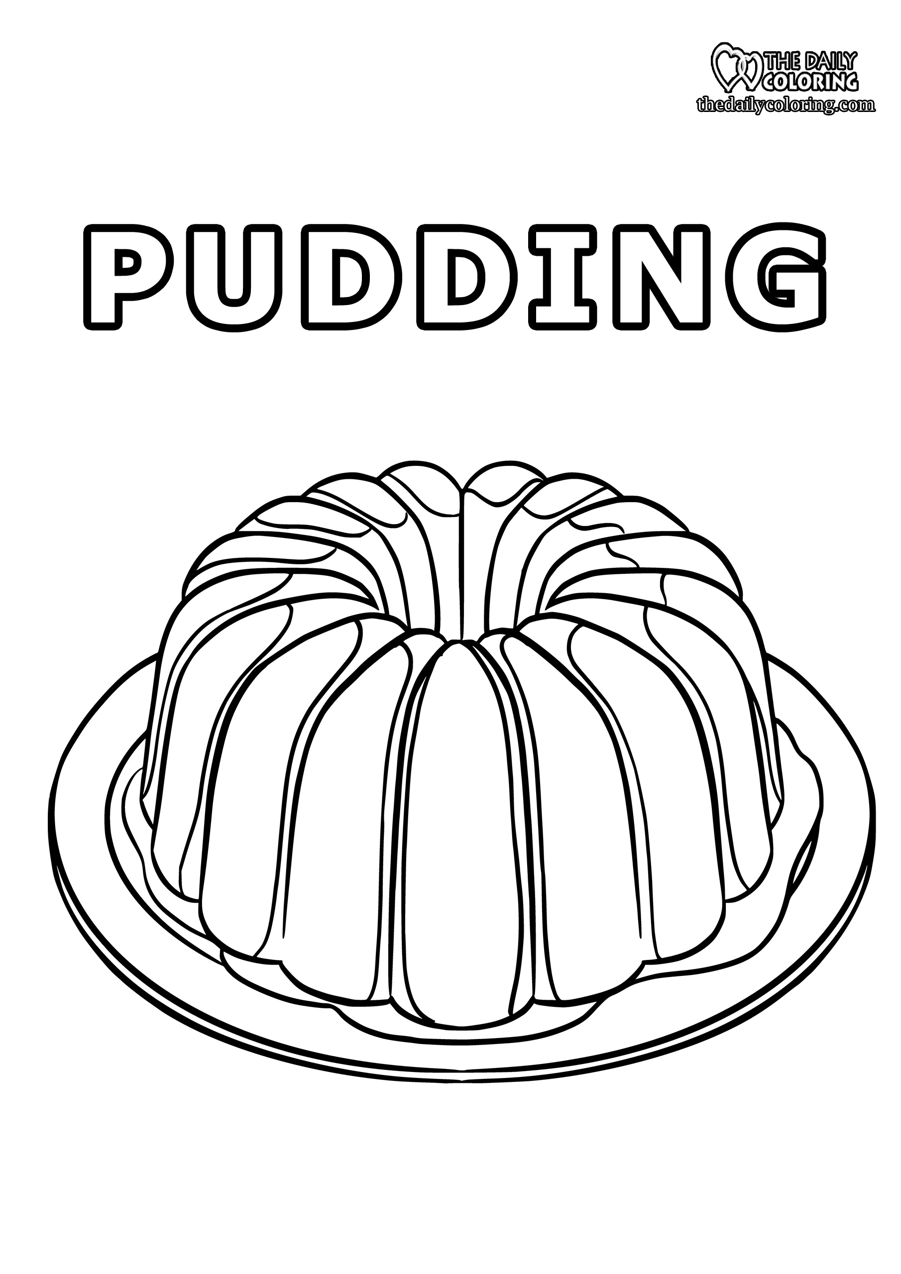 pudding-coloring-page