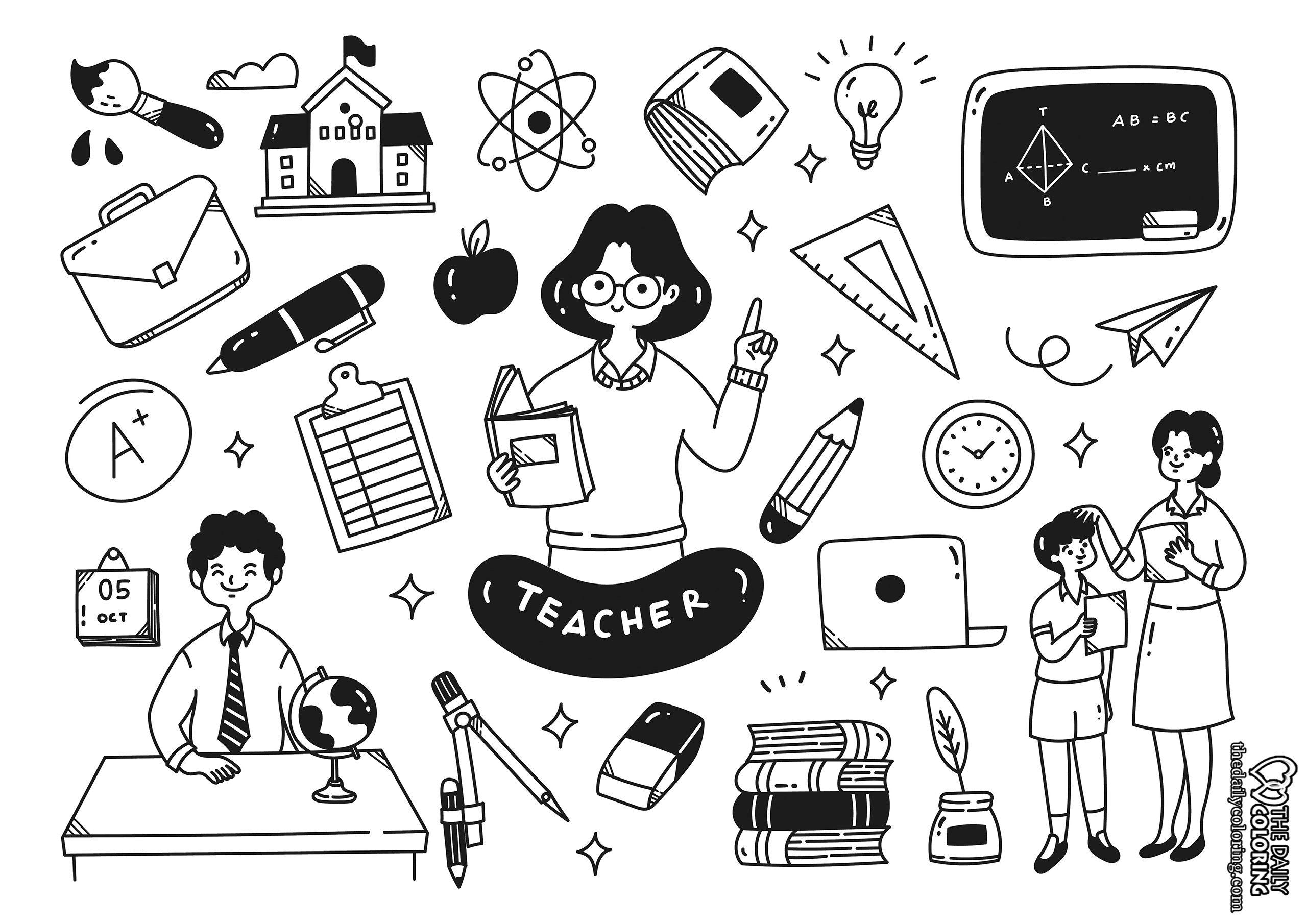 school-coloring-page