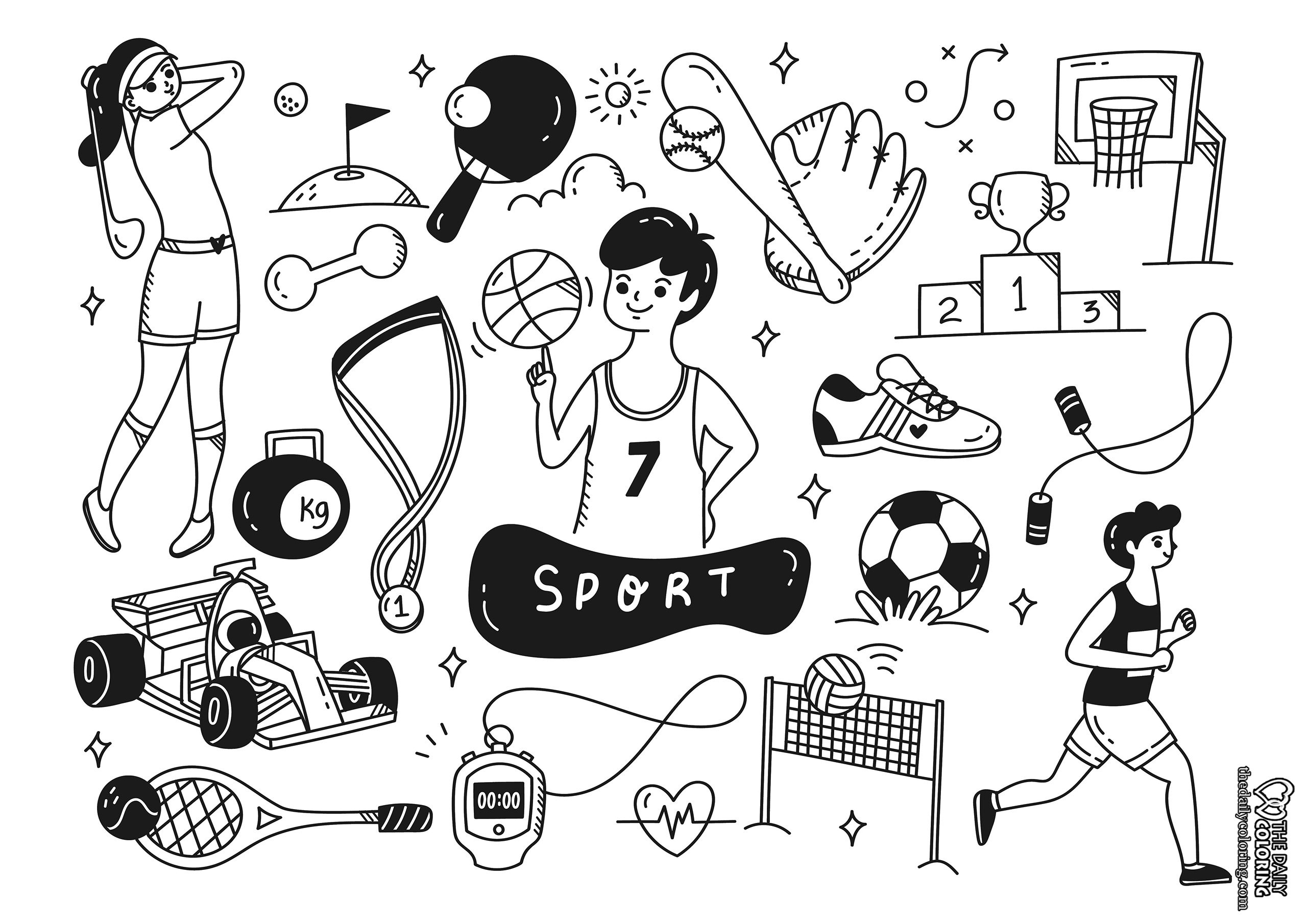 sport-coloring-page