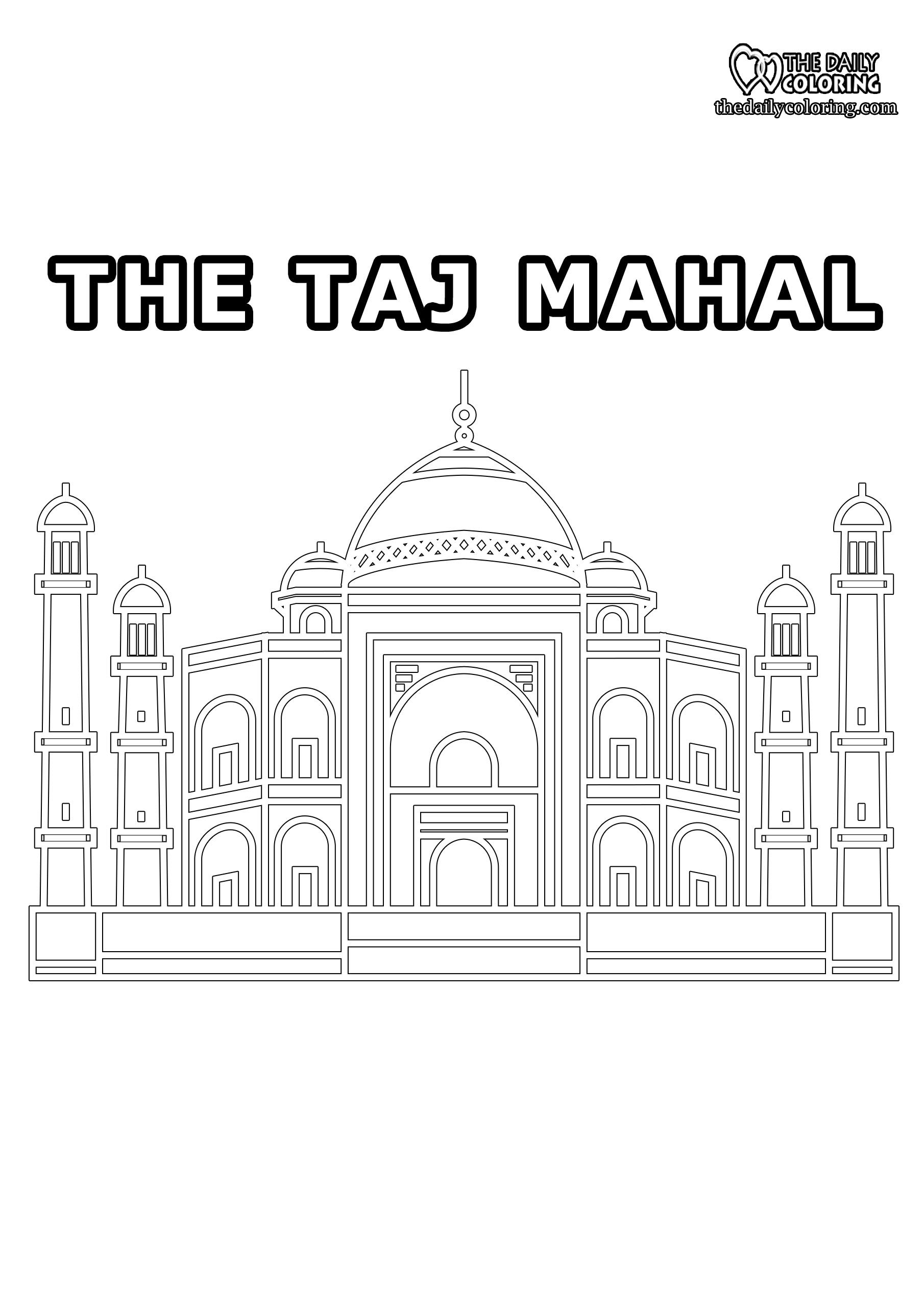 taj-mahal-coloring-page